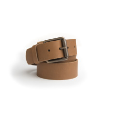 B40 leather belt in tan