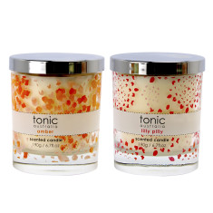 Splash scented candle set (lilly pilly and amber)