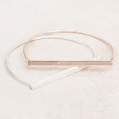 Emilia Personalised Bangle