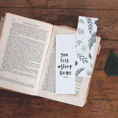 Hand Illustrated Bookmark (set of 6)