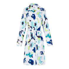 Women's packable raincoat in Matisse