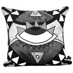 Miami Monochrome Cushion Cover