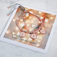 Personalised Pebble Friendship Bracelet