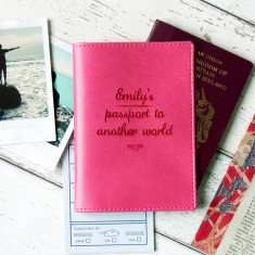 Passport To Another World... personalised passport wallet