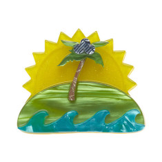 Erstwilder island in the sun brooch