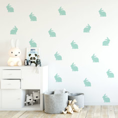 Mini Bunnies Wall Decal