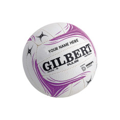 Personalised Gilbert Pulse Netball