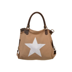 Star Beige Shoulder Bag