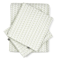 Herringbone sheet set & separates