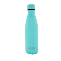S'well insulated stainless steel bottle in Satin DTM Turquoise (multiple sizes)