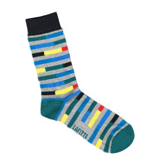 Lafitte brick pattern socks (various colours)