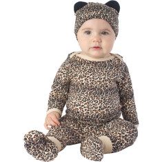 Leopard baby four piece set