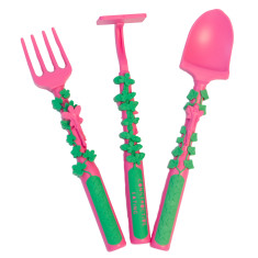 Fairy garden cutlery set