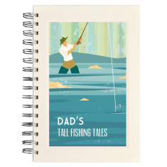 Personalised fishing notebook