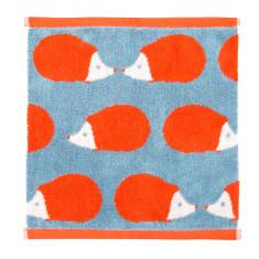 Kissing Hedgehogs Stone Blue Bath Towel Set