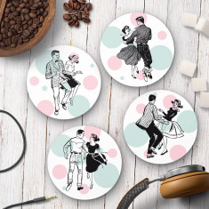 Jive Party Coasters