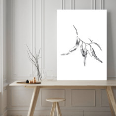 Eucalyptus leaves #3 art print (various sizes)