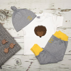 Babies hedgehog three piece set