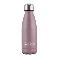 Reusable Drink Bottle in Rose Gold