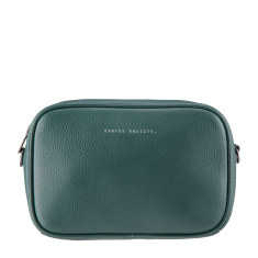 Plunder leather bag in green