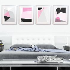 Geo modern wall art print pack (set of 4)