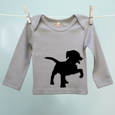 Puppy t-shirt for son or daughter