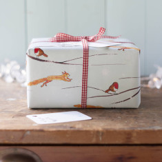 Winter Woodland Christmas Gift Wrap Set