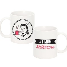 NO.1 Mum Ceramic Mug