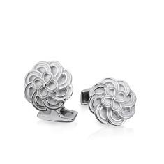 Flower cufflinks