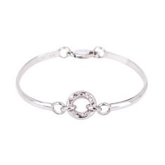 Oasis silver bracelet