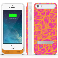 Leaves iPhone 5/5s battery case