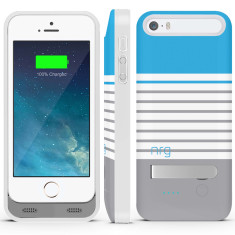 Stripes iPhone 5/5s battery case