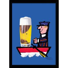 The Beer Boat Print