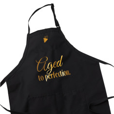 Wine Lover Apron - Aged to Perfection