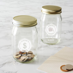 Personalised Money Jar For Kids