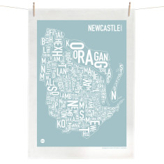 Newcastle tea towel