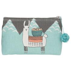 Llamarama Cosmetic Bag