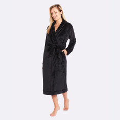 Plush Robe Black