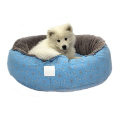 Blue windmill snug pet bed
