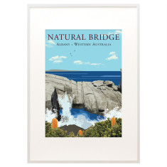 Vintage Albany Natural Bridge print