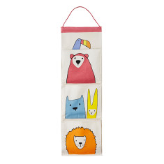 Menagerie fabric wall organiser
