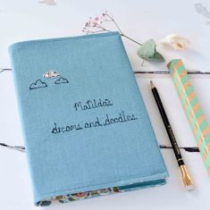 Dreams And Doodles Personalised Notebook