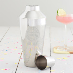 Personalised 'Cocktail Queen' Motif Shaker