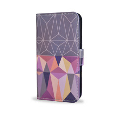 Nordic Combination Geometric Smartphone Wallet Case