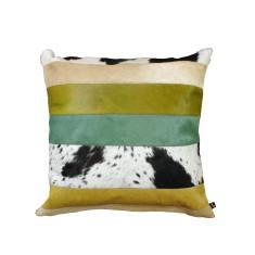 Nueva Raya cushion cover in verde