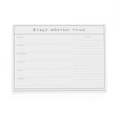 Really Important Things A4 Desk Pad