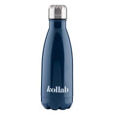Reusable Drink Bottle Gloss Navy
