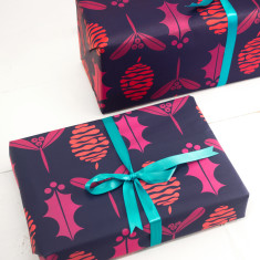 Christmas Fir Cone Wrapping paper