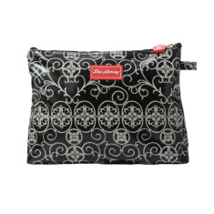 Large cosmetic, clutch or nappy bag in Gabriels Gate print