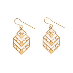 Gold Zephyr Earrings